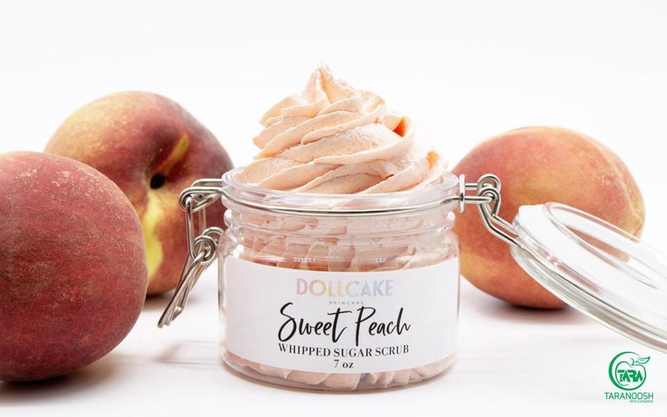 محصولات آرایشی با هلو