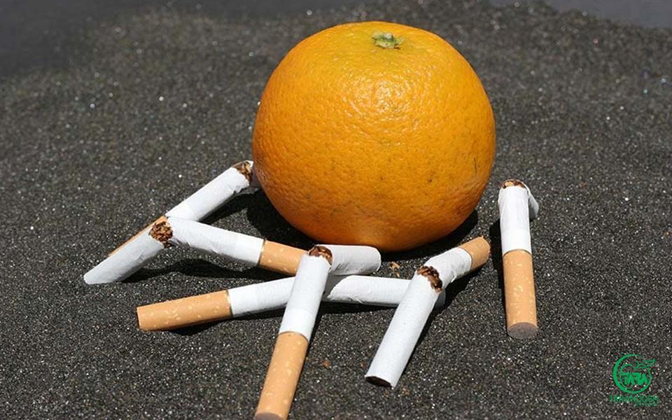 پرتقال و تنگی نفس